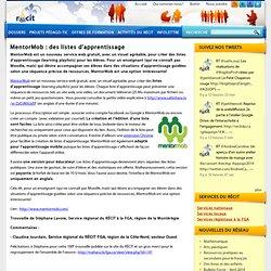 MentorMob : des listes d'apprentissage