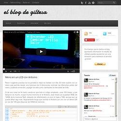 Menú en un LCD con Arduino » Blog Archive » el blog de giltesa