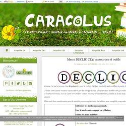 Menu DECLIC CE1: ressources et outils