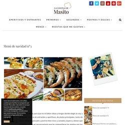 Menú de navidad nº3 - La cocina de Masito