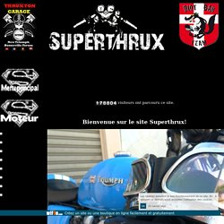 Superthrux - mecanique complet triumph truxton