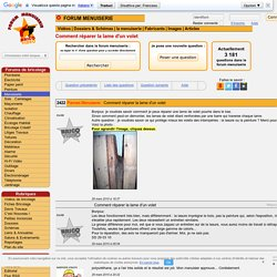 Comment réparer la lame d'un volet en bois conseils menuiserie bricolage des internautes bricoleurs