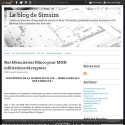 Nos Menuiseries Minco pour MOB : infiltrations décryptées - blog de simsim