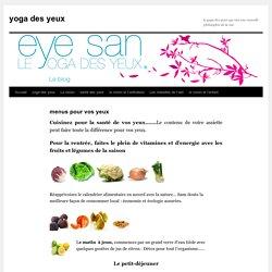 yoga des yeuxyoga des yeux