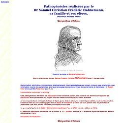 Menyanthes trifoliata - MMP - Pathogénésies réalisées par le Dr Samuel Christian Frédéric Hahnemann, sa famille et ses élèves. - Dr Robert Séror