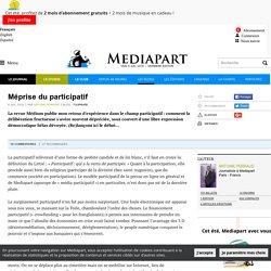 Méprise du participatif