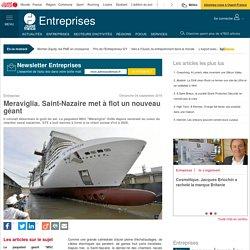 Meraviglia. Saint-Nazaire met à flot un nouveau géant