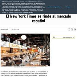 El New York Times se rinde al mercado español