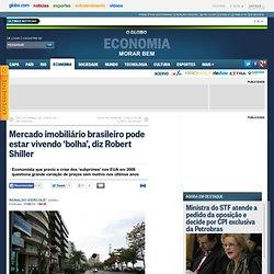 Mercado imobiliário brasileiro pode estar vivendo 'bolha', diz Robert Shiller