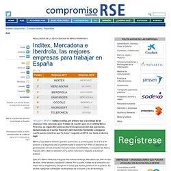 Inditex, Mercadona e Iberdrola, las mejores empresas para trabajar en España