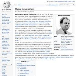 Merce Cunningham - Wikipedia