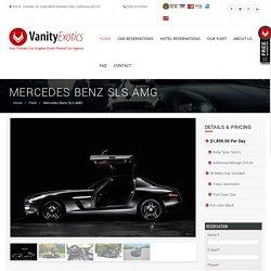 Mercedes Benz SLS AMG Rental