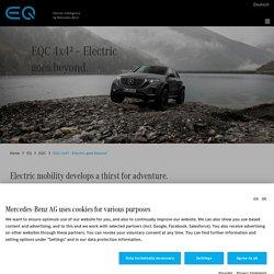 Mercedes-Benz EQC 4x4² – Electric goes beyond.