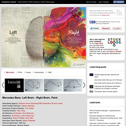 Mercedes Benz: Left Brain - Right Brain, Paint