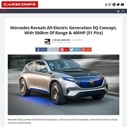 Mercedes Launches All-Electric EQ Concept Platform