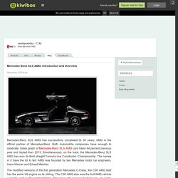 Mercedes Benz SLS AMG: Introdu…