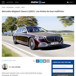 Mercedes-Maybach Classe S (2021) - Les limites du luxe redéfinies