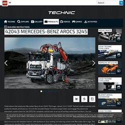 42043 Mercedes-Benz Arocs 3245 - Products - LEGO® Technic - LEGO.com - Technic LEGO.com