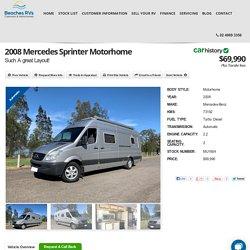 2008 Mercedes Sprinter Motorhome