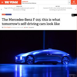 The Mercedes-Benz F 015: this is what tomorrow's self-driving cars look like