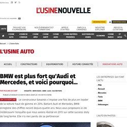 BMW est plus fort qu'Audi et Mercedes, et voici pourquoi... - L'Usine Auto
