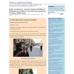 06/2013 Les oeuvres des mercenaires de Fabius & Hollande