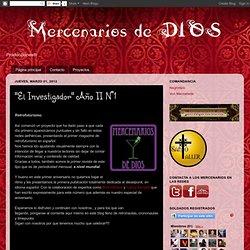 """""""El Investigador"""" Año II N°1"""