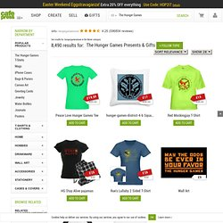 The Hunger Games Merchandise – Shirts, Clothing & Accessories