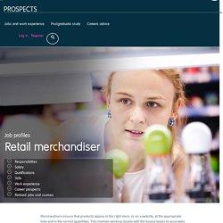 Retail merchandiser job profile