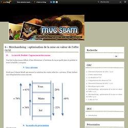 6 - Merchandising : optimisation de la mise en valeur de l'offre (2/2) - SBAM SBAM !