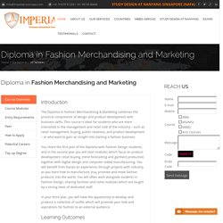 Fashion Merchandising Courses