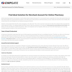 Get Merchant Account for Online Pharmacy at CNPGate