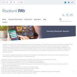 Gaming Merchant Account and Payment Processing Service in UK