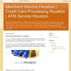 ATM Service Houston: Online Payment Service - Axialpay