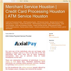 ATM Service Houston: USA Online Payment Service Provider