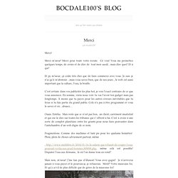 bocdale100's Blog