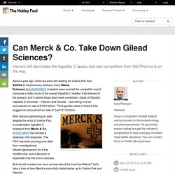 Can Merck & Co. Take Down Gilead Sciences?
