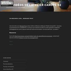 Un mercredi avec… Bernard Friot – Les vidéos de l'Atelier Canopé 92