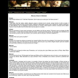 Mercure, Charon et Alcibiade dans les Dialogues des Morts de Fénelon