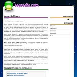 Le mont de Mercure