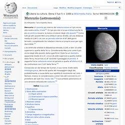 Mercurio (astronomia)