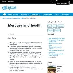 Mercury and health