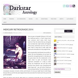 Mercury Retrograde 2012
