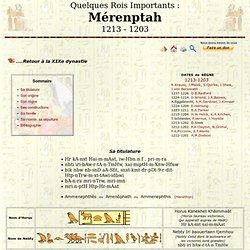 Mérenptah