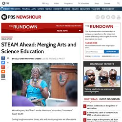 STEAM Ahead: Merging Arts and Science Education