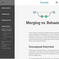 Merging vs. Rebasing