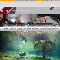 Mergulhador capta imagens mágicas de um parque submerso na Áustria