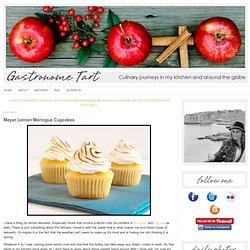 Meyer Lemon Meringue Cupcakes - Gastronome Tart
