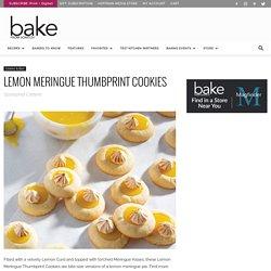 Lemon Meringue Thumbprint Cookies