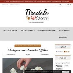 Meringues aux Amandes Effilées - Bredele.Alsace